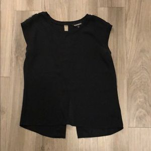 Black Sequins Shirt